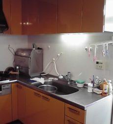 同じ色でも印象が歴然!明るい雰囲気に変わったL型キッチン扉のリフォーム事例
