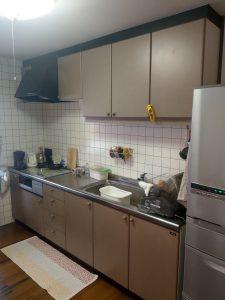 岡本様キッチン施工前